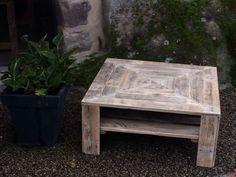 My Pallet Creations / Créations en Bois De Palettes Pallet Benches, Pallet Chairs & Pallet Stools Pallet Coffee Tables