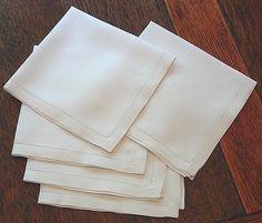 LUXURY white Linen / Cotton Table Linen - Napkins - Table Runners - Tablecloths | eBay