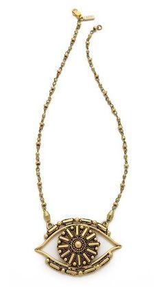 Vanessa Mooney Rocker Eye Necklace #poachit