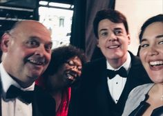 A backstage selfie with the world's best soloists is a concert tradition #facts #OSQHoliday2016
