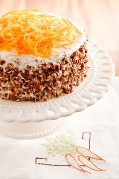 Another Paula Deen Recipe For A Special Birthday Celebration: Grandma Hiers' Carrot Cake