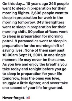 Lest We Forget, Go To Sleep, Police Officer, Firefighter, Day, Firefighters