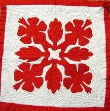Hawaiian quilts are beautiful!