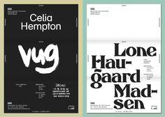 NAK EXHIBITION TYPOGRAPHY printed matter - Ruben Doornweerd | Graphic Design Studio, Amsterdam