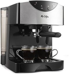 Mr. Coffee Automatic Dual Shot Espresso/Cappuccino System, ECMP50 #MrCoffee