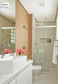 banheiro comprido e estreito - Pesquisa Google