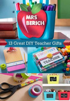What should you give teacher for the end of the year? Make one of these 13 teacher appreciation crafts to show your thanks!