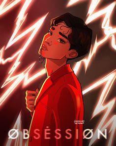 Exo Anime, Exo 12, Exo Group, Exo Fan Art, Xiuchen, Exo Xiumin, Kpop Fanart, Aesthetic Wallpapers, Chibi