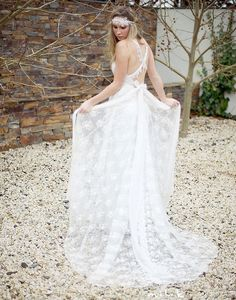Anna Campbell wedding gown. Gorgeous.