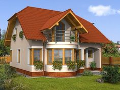 Comments in Topic Small House Design, Dream Home Design, Cool House Designs, My Dream Home, Modern Bungalow House, Architectural Design House Plans, Bohemian House, Exterior House Colors, Design Case