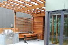 modern covered patio cabinetry - Google Search Pergolas For Sale, Outdoor Structures, Patio, Outdoor Decor, Modern, Room, Home Decor, Google Search, Kitchen