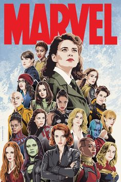 #strongbadasswomen Women Of Marvel