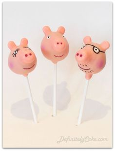 "If your child loves Peppa Pig, why not throw them a Birthday bash they will truly love and include these Top 10 ""Oinkingly"" adorable Birthday Party Ideas. Cake Pops, Peppa Pig Y George, George Pig, Peppa Pig Party Games, Cumple Peppa Pig, Peppa Pig Birthday Cake, 3rd Birthday Parties, 2nd Birthday, Elsa Birthday"