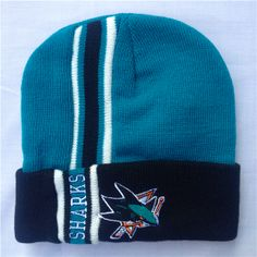 d898aeaecd9 NHL Beanies San Jose Sharks hats Not The Ball Knit Caps