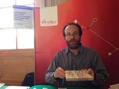Approche pédagogique et surtout très ludique de l'informatique sans ordinateur avec @mquinson au sénat #InriaAuSenat