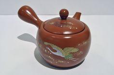 Teekanne m.Sieb Keramik 390ml Japan Grüntee Teebereiter Vegan Makrobiotik teapot