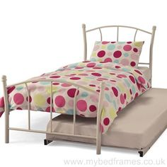 Encounter Bay Single Bed Just Kids Colour: White