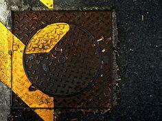 Anachropsy - photography: brown & yellow