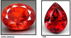 10 incríveis pedras preciosas vermelhas Curiosidades