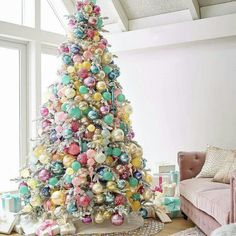 Here are 100 best Christmas Trees ideas. These Christmas Trees decor ideas & inspirations will help you in your Christmas decorations & Christmas tree decor Pink Christmas Tree Decorations, Christmas Tree Images, Beautiful Christmas Trees, Colorful Christmas Tree, Noel Christmas, Disney Christmas, Xmas Tree, Bohemian Christmas, Christmas 2019