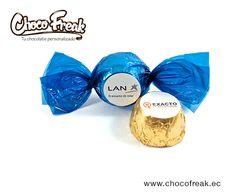 Bombones de chocolate personalizados. Chocolates promocionales. Artículos promocionales originales en Ecuador. #chocolates #personalizados #promocionales #ecuador #regalos #corporativos #empresariales