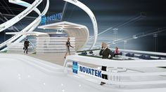 Novatek on Behance
