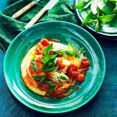 Uke 3: Spis mer grønt Thai Red Curry, Quinoa, Food And Drink, Snacks, Ethnic Recipes, Frisk, Bright, Fitness, Tips