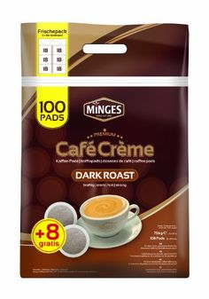 Minges KaffeepadMegabeutel Dark Roast 100  8 Pads Gratis 1er Pack 1 x 756 g * Be sure to check out this awesome product.  This link participates in Amazon Service LLC Associates Program, a program designed to let participant earn advertising fees by advertising and linking to Amazon.com.