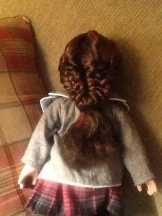 Weaved fishtail mermaid braid