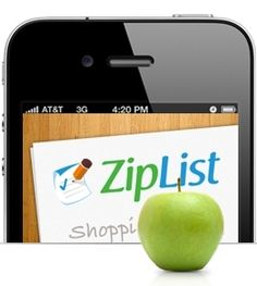Ziplist  -  Love this app!  The forever shopping list!  No need to rewrite what you always buy at the store.  Just tap the item you want and it goes into your shopping basket to buy next time you go to the store.  Empty the basket and it goes back to you permanent list for later.