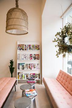 A Peek Inside The Prettiest Nail Salon You've Ever Seen   via @glitterguide glitterguide.com