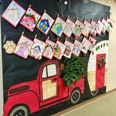 Home for the Holidays! 🎄🏠 Finally finished this bulletin board and I'm loving the final product! I u...