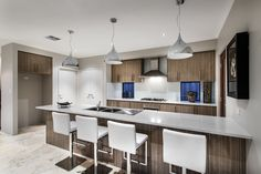 This kitchen is featured in our narrow lot home The Ardross.  Rome Road, Melville, WA.