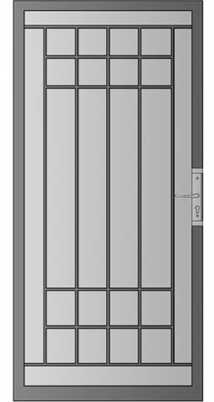 54 Ideas House Door Design Wrought Iron For 2019 Grill Gate Design, Window Grill Design Modern, Iron Gate Design, Window Design, Home Door Design, House Design, Design Design, Fly Screen Doors, Security Screen