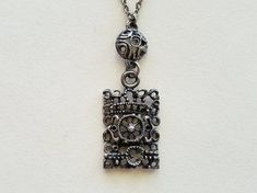 Juhani Vuorisalmi vintage pewter pendantFinland by LifeUpNorth Open Ring, Pendant Design, Handmade Silver, Finland, Pewter, 1970s, Vintage Items, Silver Jewelry, Pendants