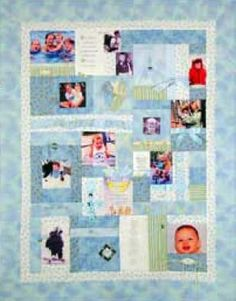 Memory Quilt....What a great idea
