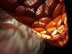 Una splendida idea, per riciclare il cilindro di cartone! Dal blog  STELLEDILATTA