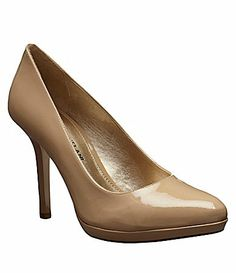 Antonio Melani Joanne Pumps. Size: 8.5. ($89.99) -- Need a pair of nude pumps.