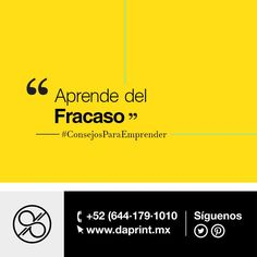 #ConsejoParaEmprender