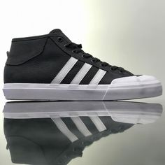 @adidasskateboarding Match Court Mid black leather colorway available @8five2shop www.8five2.com retail price at HKD790 #852 #hkskateshop #8five2 #adidasskateboarding