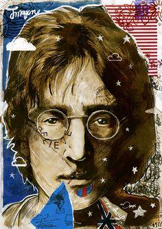 John Lennon by mariogogh, via Flickr