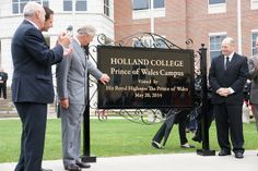 Prince Charles at Holland College on the royal visit to Canada: Day Three