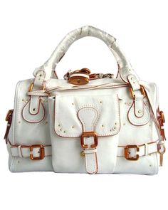 Chloe Paddington Satchel Ivory Leather handbag