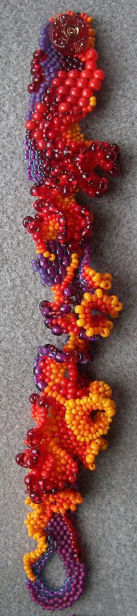Karen Williams: Spanish Dancer bracelet