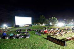 Port Douglas Open Air Cinema at QT Port Douglas Resort.