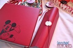 Making Your Own Album Spine - Hole Punch and Adding Ribbon