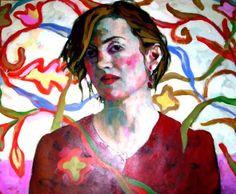 Xenia Hausner- her style is my portrait inspiration Portrait Inspiration, Painting Inspiration, Girl Drawing Images, Dramatic Arts, Z Arts, London Art, Watercolor Portraits, Portrait Art, Figurative Art