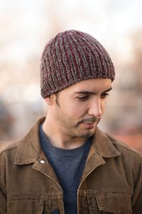 Yukon Beanie - from the Fall 2014 Issue of Love of Knitting magazine  Designed by Marie Segares  Not only does stranded colorwork, or Fair Isle, create exciting interplays of color, it also adds an extra layer of warmth because of the unused yarn stranded on the inside.   Skill level: Easy