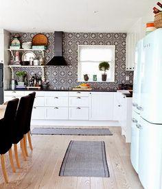 Inspiracje w moim mieszkaniu {Inspiration in my apartment}: Nowoczesna kuchnia z dodatkiem Maroka / Modern kit...