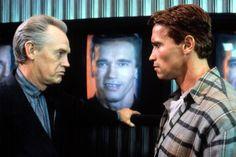 TOTAL RECALL, Ronny Cox, Arnold Schwarzenegger, 1990